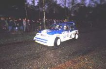 MG 6R4 Tony Pond 85 RAC Rally Night Stage